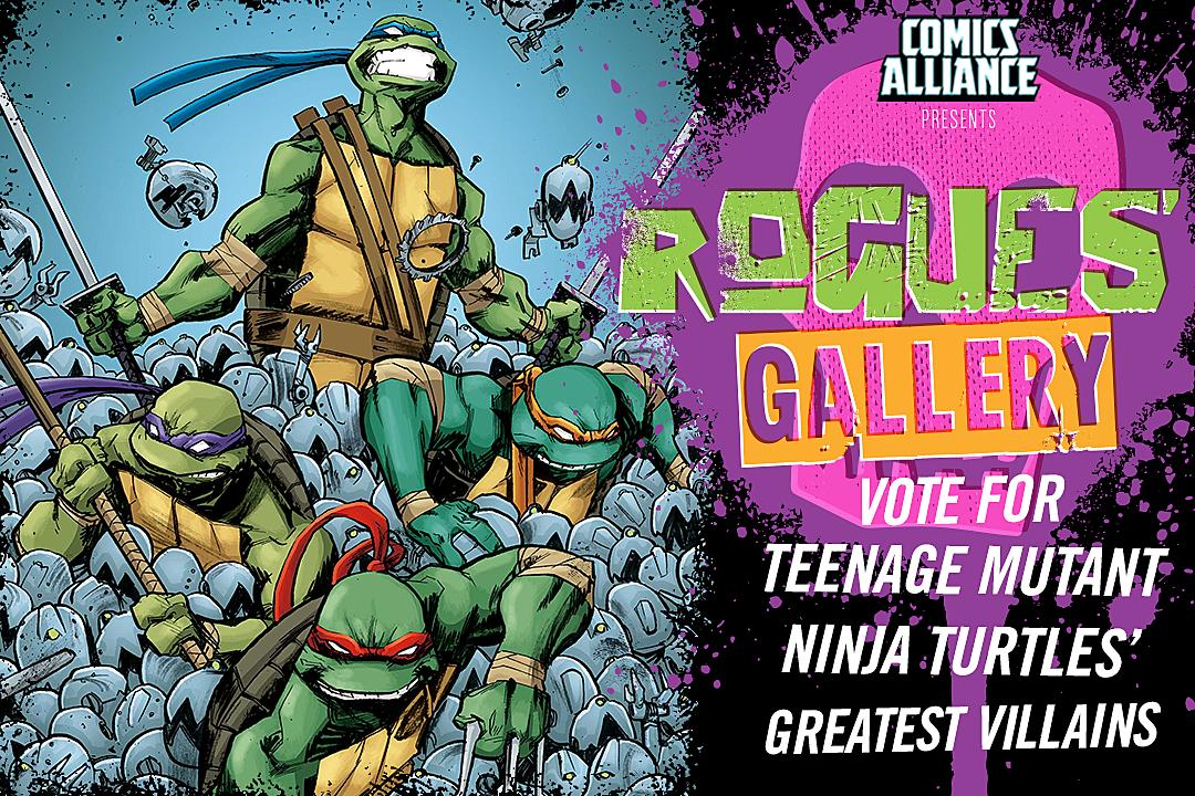 rogues gallery the top ten tmnt villains