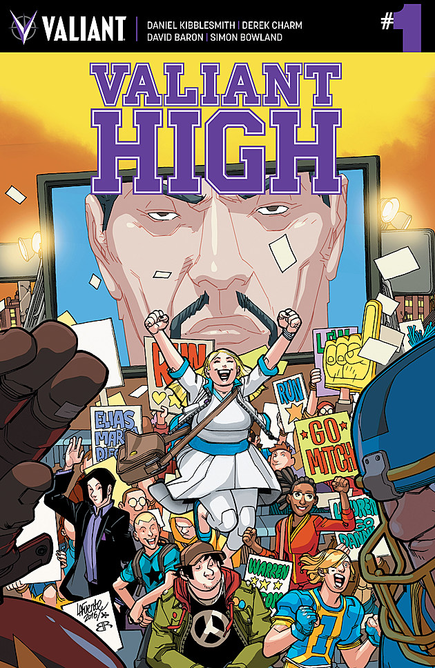 Valiant High #1, Valiant Entertainment