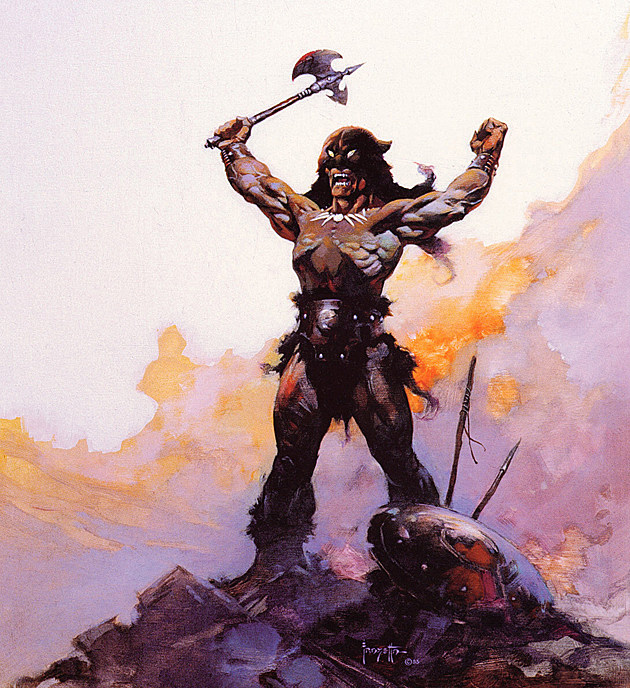 Warriors Fire And Ice Pinkbunnygirl43: Death Dealers And Destroyers: A Tribute To Frank Frazetta