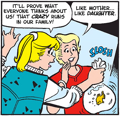 Archie Comics. Dialogue from Riverdale.