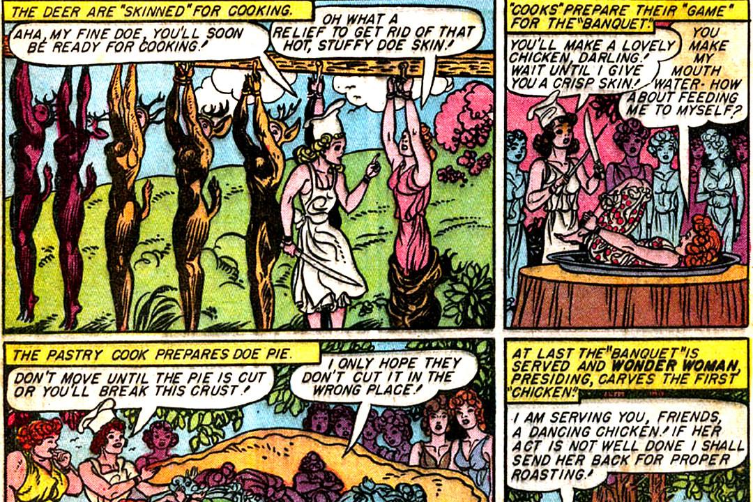 spanking Wonder woman