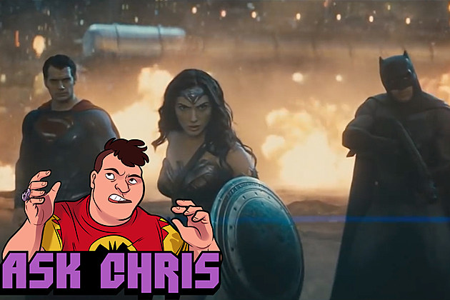 Ask Chris #330, background art from Batman v Superman: Dawn of Justice
