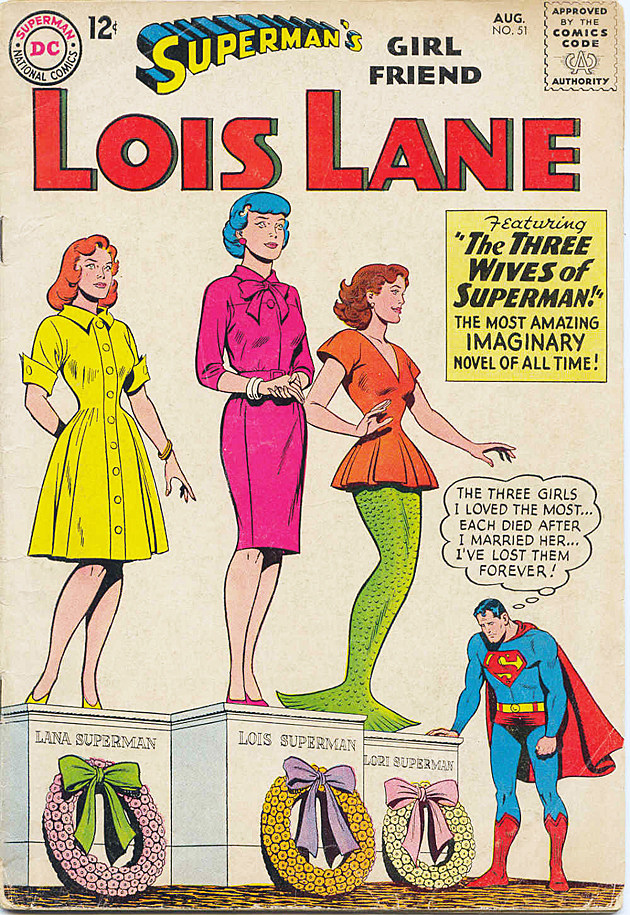 Superman's Girl Friend Lois Lane, DC Comics