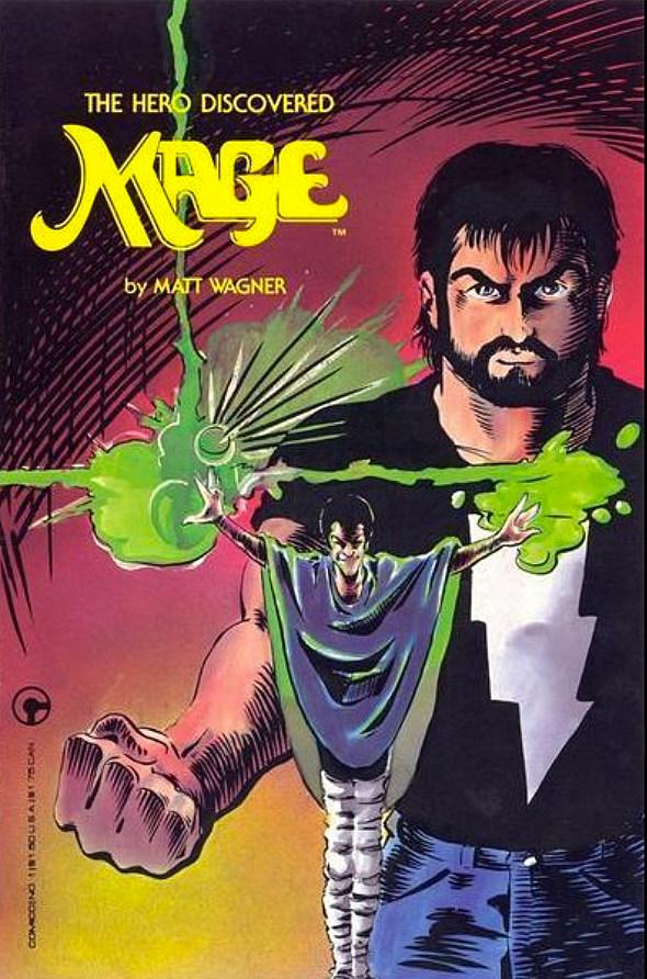 Mage, by Matt Wagner
