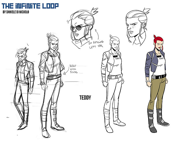 Infinite Loop designs by Daniele DiNicuolo