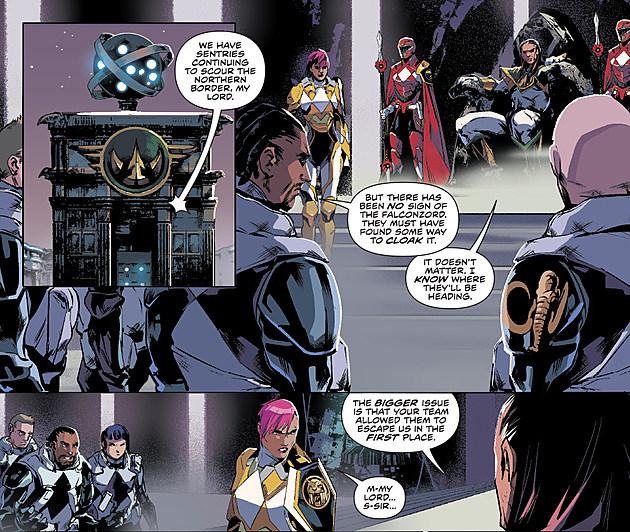 Mighty Morphin Power Rangers #13, Boom Studios