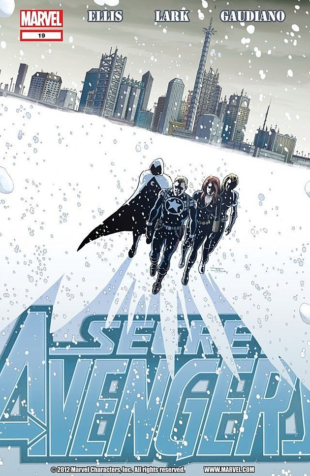 John Cassaday & Paul Mounts / Marvel Comics