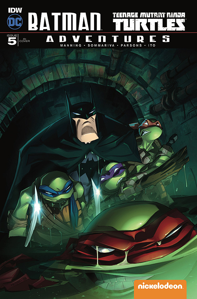 Batman/TMNT Adventures #5, IDW and DC
