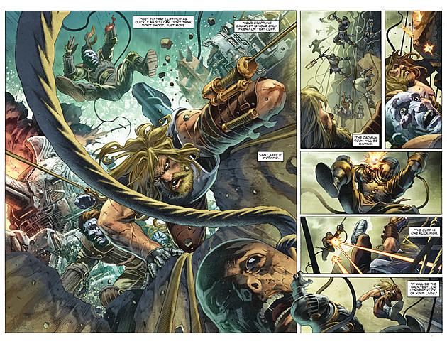 X-O Manowar #1, Valiant Entertainment, click for full size