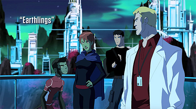 Young Justice S2E2: Earthlings