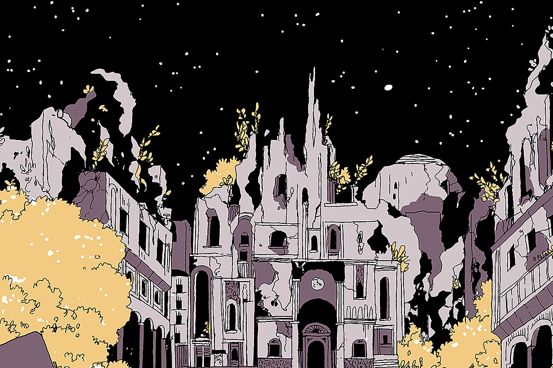 Why Tillie Walden's 'On a Sunbeam' Makes Outer Space A Warm Place [Webcomic Q&A]