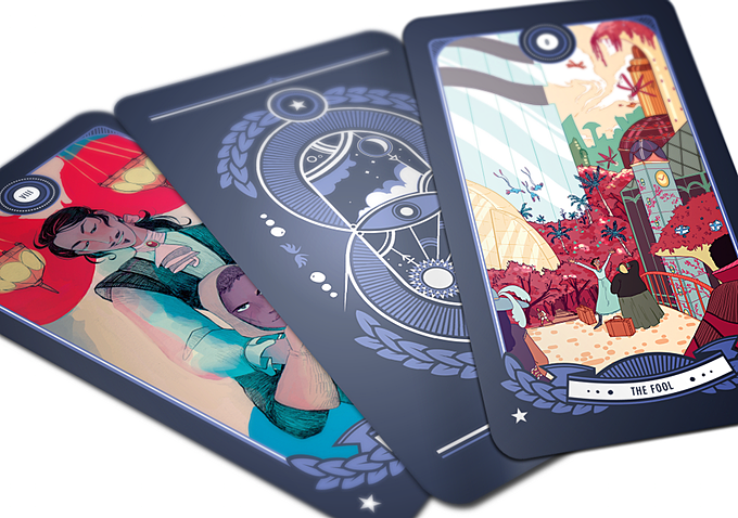 Digital mockup of the cards. (Subject to change.) Via Fortuna Media.
